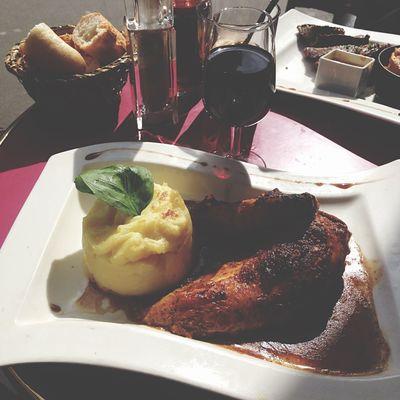 Lunch 出張 Montparnasse Paris