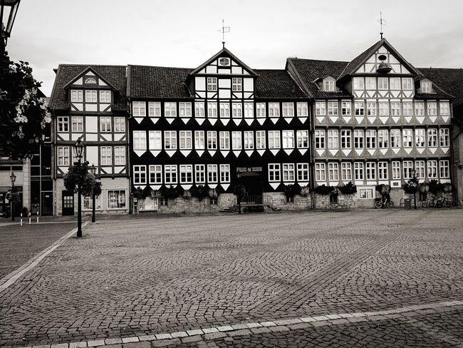 Salzgitter Marktplatz Fachwerkhäuser