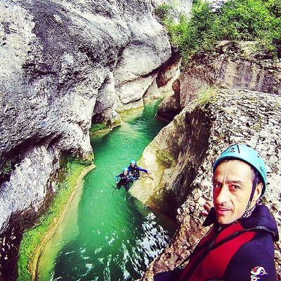 Vero Guara Alquézar Riovero descensodebarrancos canyoning
