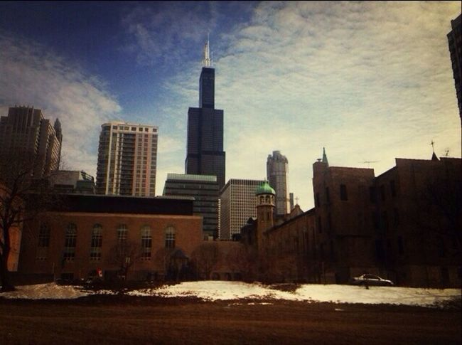 Chicago my City Of Dreams Sears Tower Amazing View