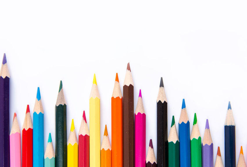 Pencils colorful set, wooden colored pencils, crayon isolated on white background, copy space Colors Copy Space Crayons Graphic Isolated Paint Set Sketch Art Collection Colored Pencils Box Colorful Colorful Crayons Crayon Design Drawing Education Frame Group Of Objects Pencil Pencil Art Row Sharp White Background Wooden