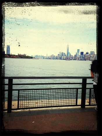 New York City from Liberty Island