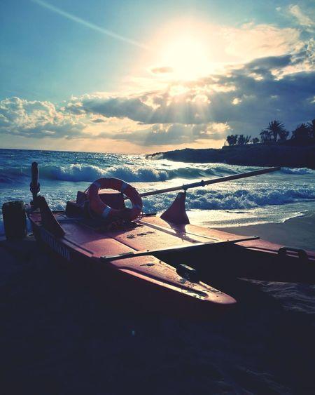 salvataggio Water Sea Beach Sunset Sand Sunlight Shadow Summer Sky Horizon Over Water Coast