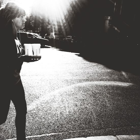 When there is someone with Coffee in the morning and you run them through the Capa Filter maybe people seeing Streetphoto_bw 's album will like your pictures because it is an EyeEm Best Shots - The Streets