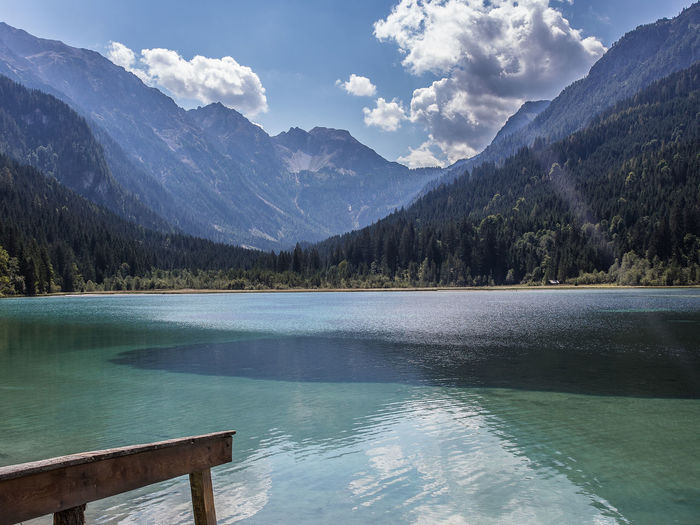 heaven on earth Austrian Alps Austrian Mountains Water Reflections Beauty In Nature Blue Cloud - Sky Clouds And Sky Day Idyllic Lake Mountain Mountain Peak Mountain Range Nature No People Non-urban Scene Outdoors Reflection Remote Scenics - Nature Sky Tranquil Scene Tranquility Tree Water