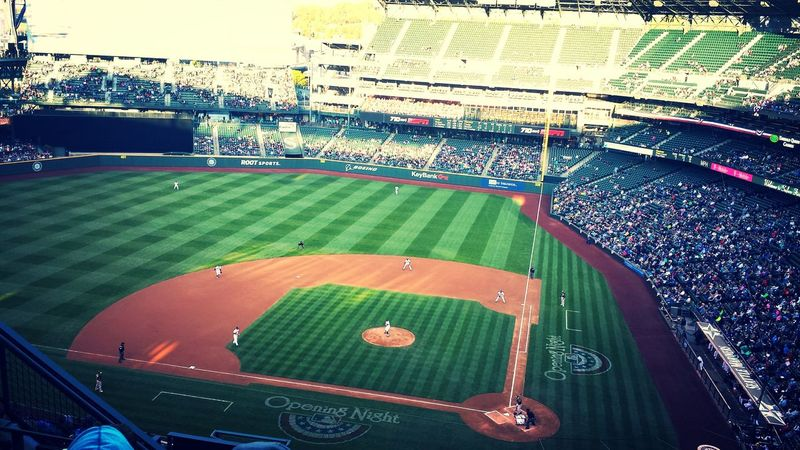 Let's go Mariners Safecofield Seattle
