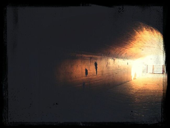 there is always light at the end of the tunnel.