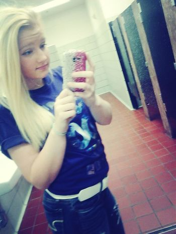 i hate the schools bathroom..
