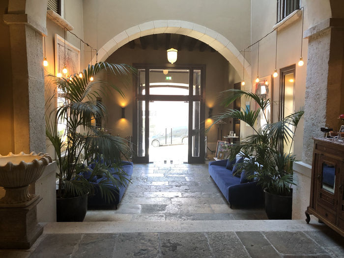 Boutique hotel lobby in Lisbon, Portugal Lisbon Portugal Architecture Built Structure Indoors  No People Lighting Equipment Luxury Boutique Hotel Lobby Potted Plant Arch Plant Entrance Illuminated Nature Building Window Direction The Way Forward Door Day Flooring Electric Lamp Tiled Floor Ceiling