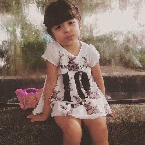 Minha princesa... Cada dia mais mocinha, sempre nos surpriendendo com sua meiguice!!! Amomuito Paibabao Amoreterno Passeionoshopping