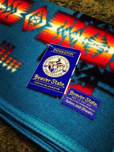 もーふ Pendleton Blanket