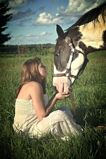 Domestic Animals Horse Field Person One Animal Leisure Activity Young Women Young Adult Summer Cowgrils (: Cowgirl Cowgirl Up Cowgirl Boots Cowgirls (: ❤️ Cowgirl Dreaming Cowgirl Love