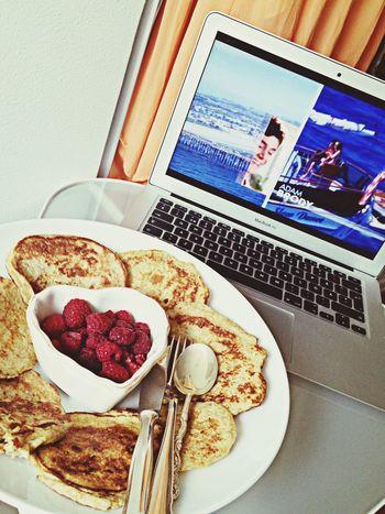 Breakfast Banana Pancake Food Porn Wifey♡