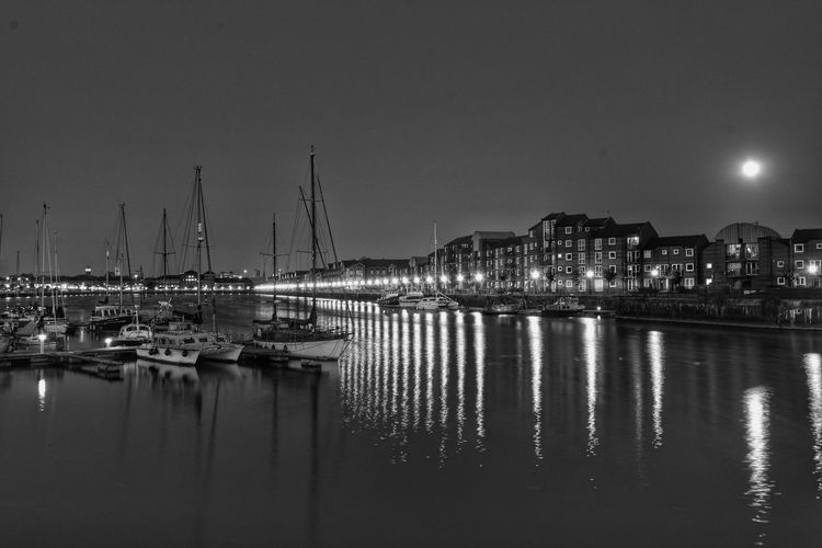 Playing around with a bit of black and white editing in Snapseed. Taking Photos Relaxing Malephotographerofthemonth Photography Is My Escape From Reality! Beauty In Nature Preston Docks Taking Photos Preston Boats⛵️ Boats Light And Shadow Blackandwhite Blackandwhite Photography