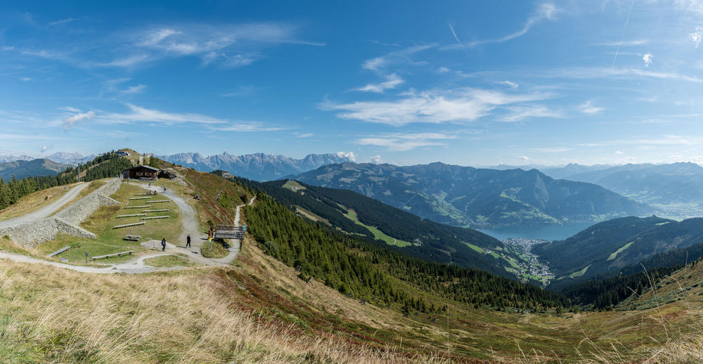 Berge HDR Himmel Landschaft Panorama Pinzgau Salzburger Land Schmittenhöhe Wolken Steinernes Meer Wandern Zell Am See Österreich