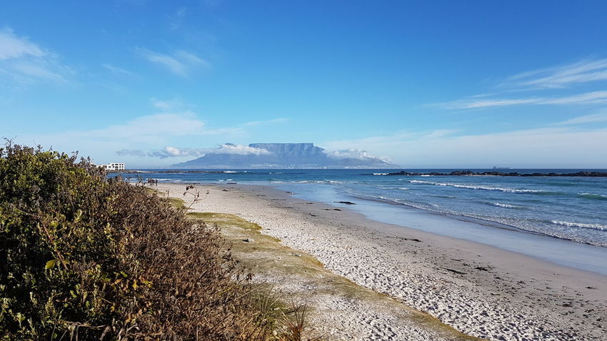 From Where I Stand African Skies South Africa Beautiful Design See God's Glory On Display BloubergStrand Capetown South Africa Cape Town, South Africa Cape Town Cape Town Beauty Table Mountain Seaside Life Seascape Sea View