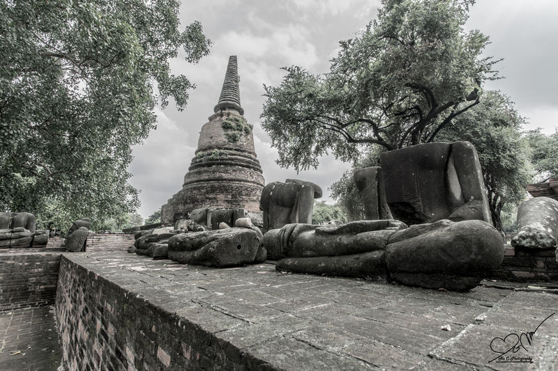 Old temple in