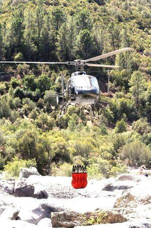 Elicottero Soccorso Vigili Del Fuoco  Incendio Fiume Fango Corsica EyeEm EyeEm Best Edits EyeEm Gallery