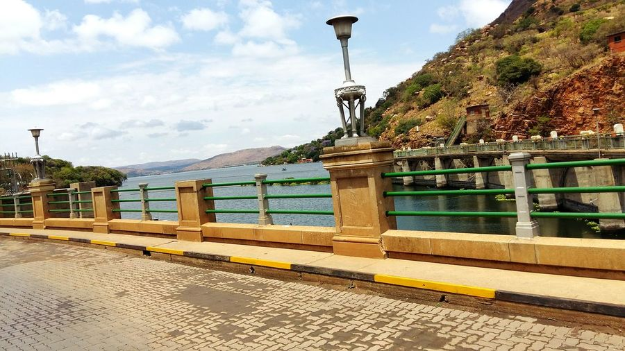 No People Outdoors Horizontal Water Architecture Sky Promenade Day Dam River Hartebeespoort
