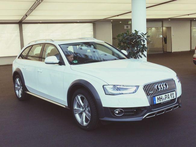 Newcar Welcome Car Audi Allroad Fun White