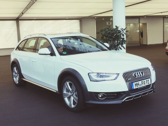 Newcar Welcome Car Audi Allroad Fun White