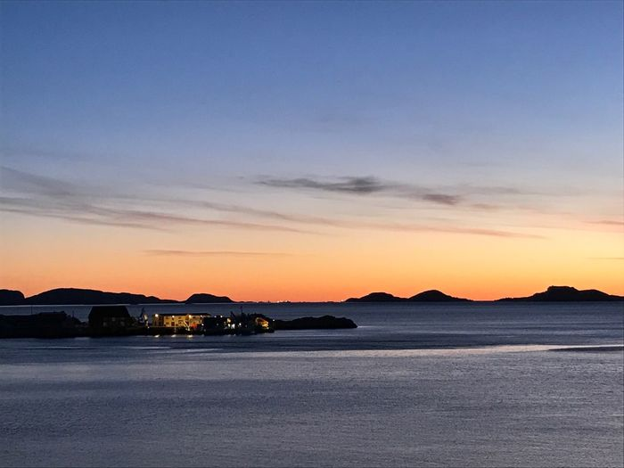 Sandviksberget. Ocean Sunset Sandviksberget