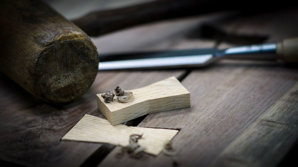 Woodworking Wood - Material Still Life Indoors  No People Art And Craft Close-up Table Selective Focus Craft Workshop