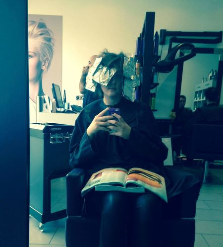 Hairdresser Hairstyle Haircolor Relaxing Good Look Foils Blonde ♡