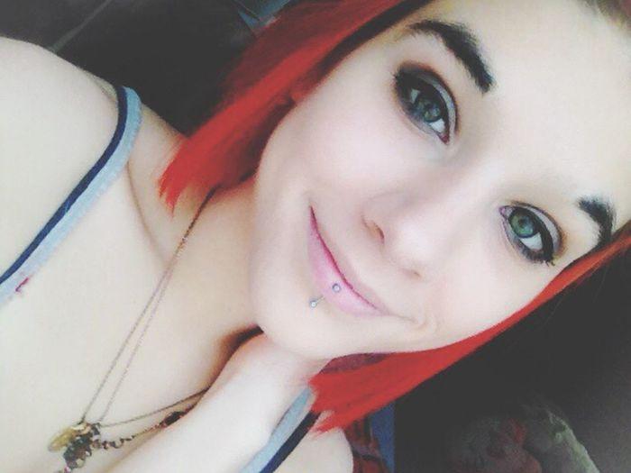 Selfie Selfportrait ThatsMe Random Red Redhead