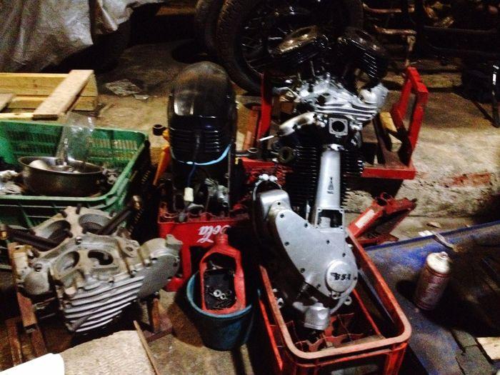 Hello World Enjoying Life Bikers Brotherhood Mc 35 Garage Bandung INDONESIA Panhead Wla Birmingham Small Arms Bmw Motorcycle