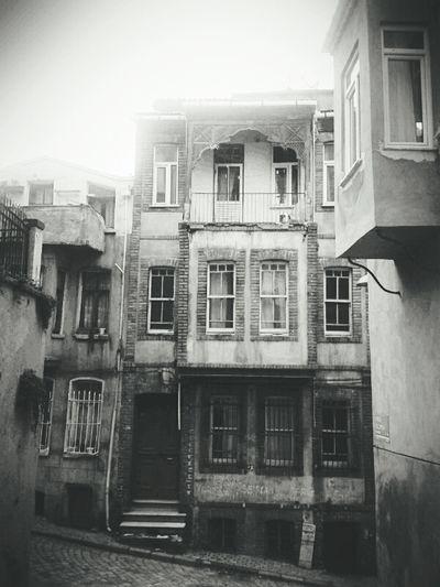 Yaşanmışlıklar Old Buildings Historical Building Balat Sokakları Jumbalı Istanbul Turkey Balat