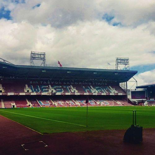 Westham Stadium Football Premiership Beforethematch Emptystands Calmbeforethestorm London Uk 2014