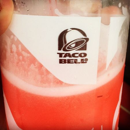 @tacobell thanks this are very good 😍😗😘 when warm in Northcarolina 919 good day have them thy cool me off love them both i love the pink tell need more frover
