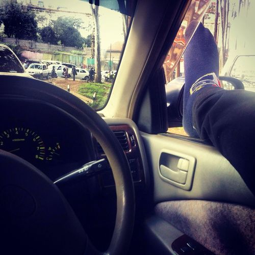 Gettin bored of the traffic jam....:-(