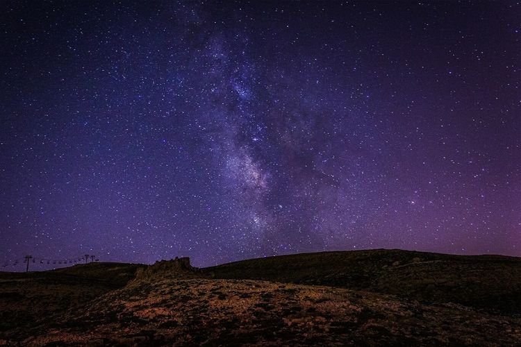 The Milky way - The Moment - 2014 EyeEm Awards Beautiful Photography Colors