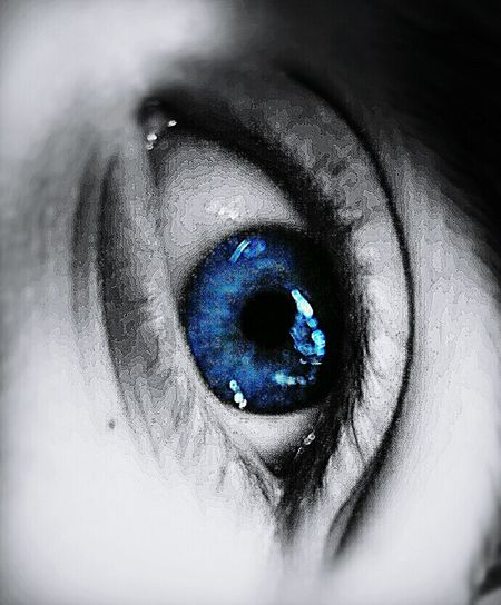 The perfect blue 💙💙 Blue Close-up Eye Iris - Eye Eyeball Beauty Human Eye