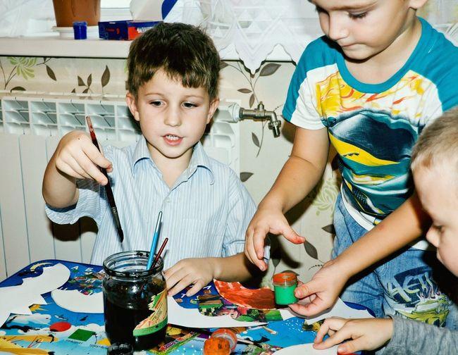 дети рисунок Творчество художник