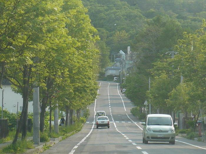 小樽 Otaru 北海道 Hokkaido 坂道 Sloping Road
