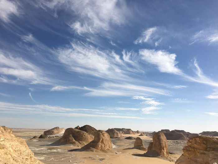 My Year My View First Eyeem Photo Egypt Safari White Desert Mountain View Sky And Clouds
