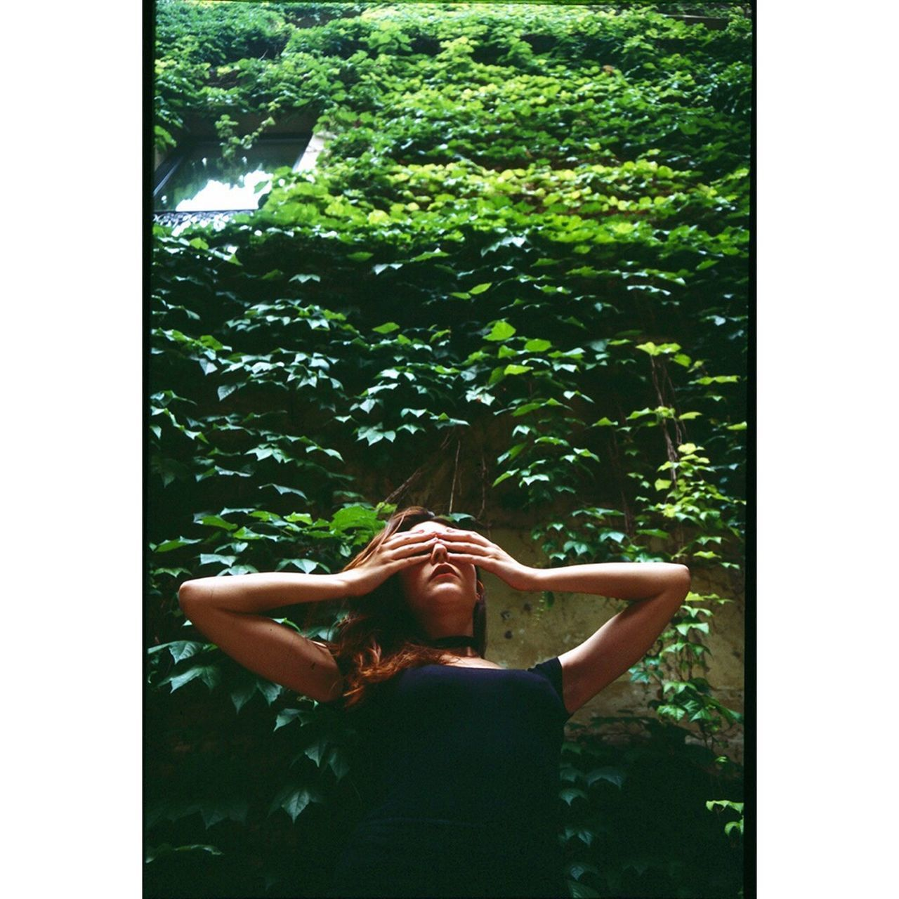 Federica, may 2017. One Person Only Women Outdoors Nature The Week On EyeEm Filmisnotdead Film Photography Analogue Photography Analog Camera Tree Low Angle View The Week On EyeEm