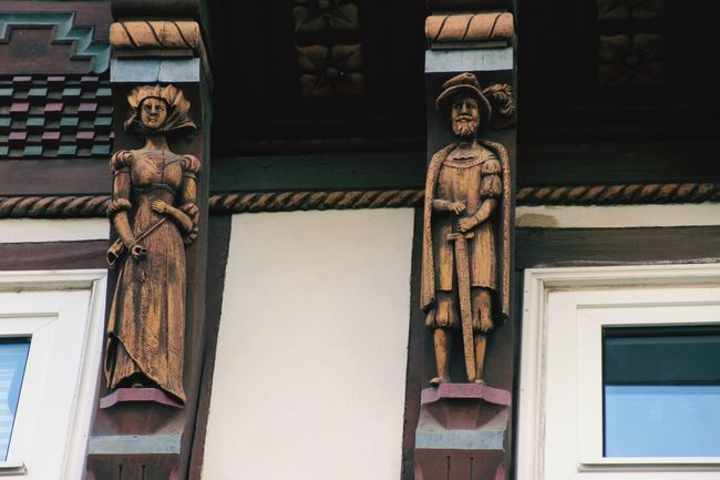 Fachwerkhaus Fachwerk Old City City Politics And Government Façade King - Royal Person Window Door Architecture Building Exterior Close-up Built Structure
