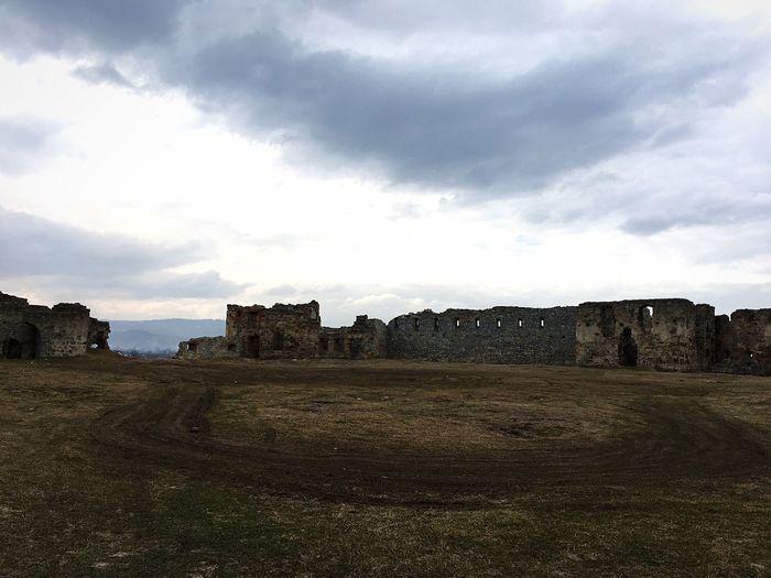 Carpathians Ruins Castle