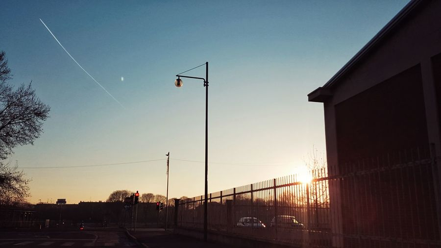 Sunset Outdoors Sky No People Day Check This Out First Eyeem Photo Hello World EyeEm Gallery Hanging Out Freshness Winter Scenics Clear Sky City Life Sunlight Adapted To The City