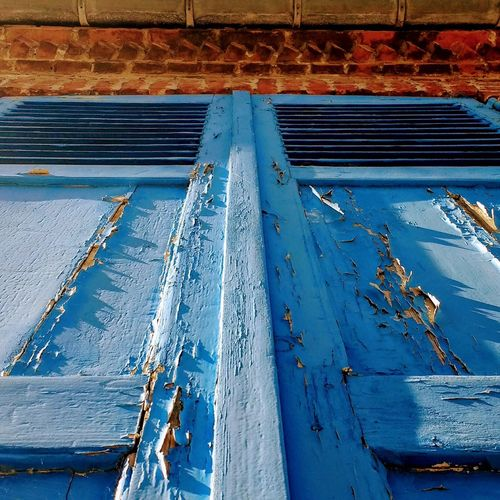 Window wants paint Outdoors Blue Simplicity Is Beauty. Simplicity.  Doors And Windows Around The World Coloured House Colors Windowsaroundtheworld The Street Photographer - 2017 EyeEm Awards