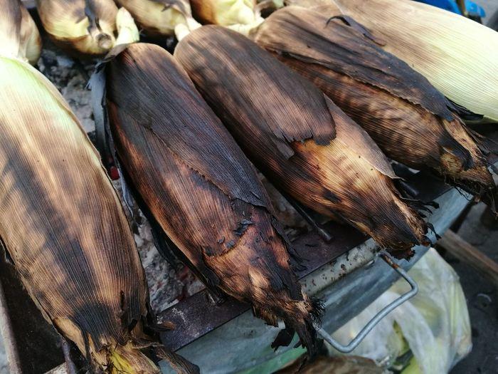 Freshness Healthy Eating Market Food Nature Roasted Corn