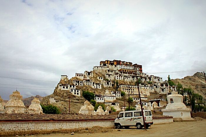 Buddhism Culture Travel Photography Ladakh Feel The Journey Thikseymonastery Building On Mountain Top Landscape_Collection Incredible India Original Experiences Cool Weather Jammu And Kashmir Gorgeous View June 2016 Monastery Thiksey