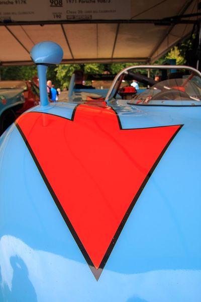 My favourite livery. gulf Colours with arrows of Targo Florio Porsche 908 Fos Porsche Racing Car