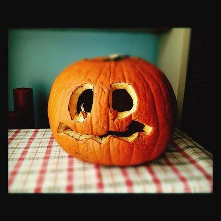 Happy Halloween Rotting Away Pumpkin
