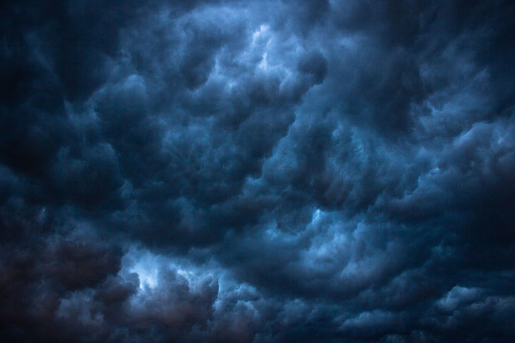 Cloud - Sky Sky Beauty In Nature Dramatic Sky Cloudscape Low Angle View Storm Storm Cloud Backgrounds No People Overcast Scenics - Nature Nature Thunderstorm Full Frame Dark Tranquility Meteorology Moody Sky Outdoors Power In Nature Ominous