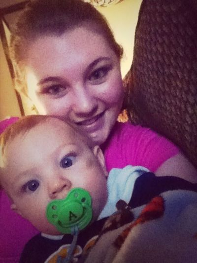Me And The Sweetest Baby Ever ;)